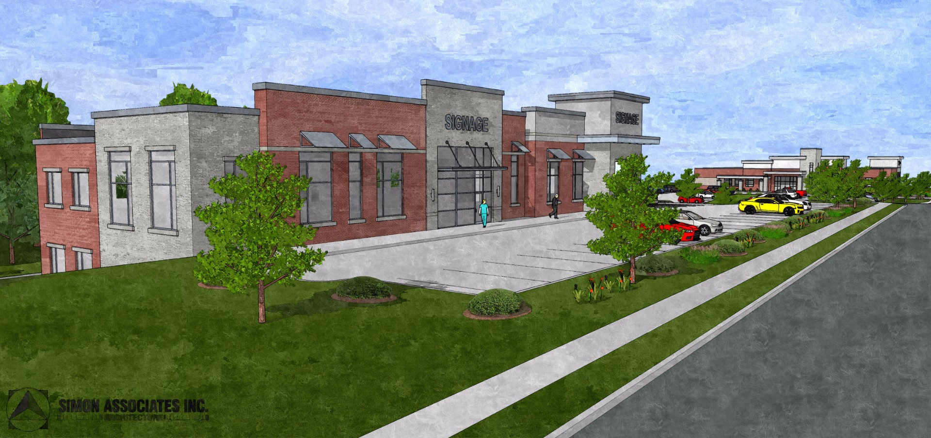 Medical Office Rendering Front